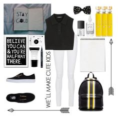 """School"" by obrien91 ❤ liked on Polyvore featuring Frame Denim, Neil Barrett, Givenchy, Vans, Miss Selfridge, Lomography, Smashbox, Christian Dior, NARS Cosmetics and Acqua di Parma"