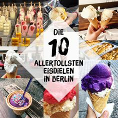 Als absolute Eis-Fanatikerinnen leben wir in der absolut richtigen Stadt – Eis… As absolute ice fanatics, we live in the absolutely right city – ice cream parlors in Berlin are like sand on the sea. Here are our ten favorites! Berlin Food, Berlin City, Berlin Berlin, Berlin Germany, Berlin Travel, Germany Travel, Travel Europe, Travel Destinations, Ice Cream Parlor