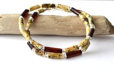 Natural Amber Men Necklace, Men's Jewelry, Untreated Amber Men Jewelry, Natural Gift Idea for Men, Amber Necklace, Jewelry for men Baltic Amber Necklace, Amber Earrings, Amber Bracelet, Amber Jewelry, Men's Jewelry, Photo Jewelry, Leather Jewelry, Jewelry Gifts, Summer Necklace