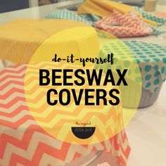 Here is my simple recipe for DIY reusable beeswax covers perfect for covering fruit & vege, sandwiches and leftovers. Reduce your waste and save money!