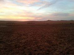Sunset...somewhere in Saudi