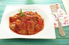 Receta de fritada de asadura de cerdo Spanish Food, Ratatouille, Beef, Ethnic Recipes, Gastronomia, Shape, Ethnic Food, Meals, Traditional
