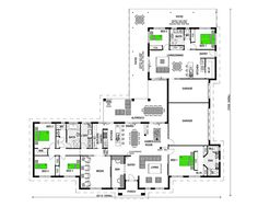 Granny flat property search and floor plans on pinterest - Home design with attached granny flat ...