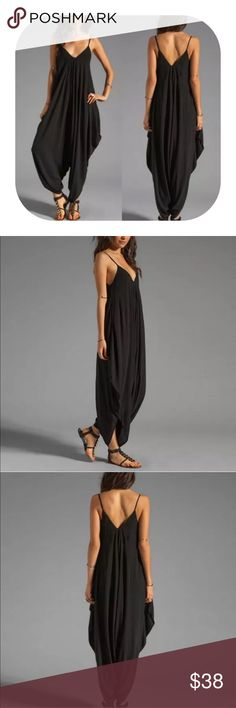comingsoon strap side pocket jumpsuit Brand new with tag. Get 15% off when you buy two or more. It will be coming in in around 2 weeks. If you would like to get notified, simply press like or leave me a message. I will let you know. Pants Jumpsuits & Rompers