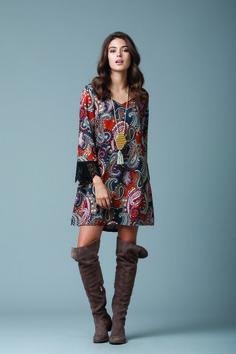 Feel comfort to the maximum with a mini boho dress!