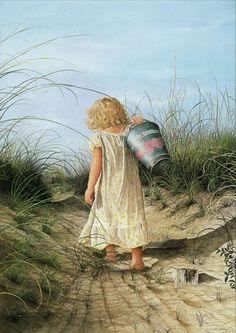 A Little Child Shall Lead Them by Ken Helser | eBay