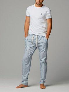 EX M/&S Marks And Spencer Reine Baumwolle Henley Ausschnitt Pyjama Oberteil