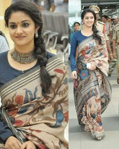 7 latest trending blouse designs for sarees and lehengas! Full Sleeves Blouse Designs, Cotton Saree Blouse Designs, Fancy Blouse Designs, Kalamkari Blouse Designs, Full Sleeves Design, Kurta Designs, Saris Indios, Designer Blouse Patterns, Vestidos