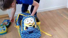 Minions rygsæk / skoletaske til fast lav pris
