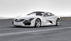 Mercedes Benz SF1 - Final Design by Steel Drake, via Behance