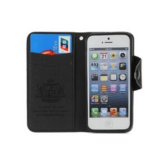 Luxury Diary Leather Case for iPhone 5 Vertical Magnetic2 card holder slots, and extra storage space for cash, receipt etc.Inside jelly case to hold your iPhone 5 safely.