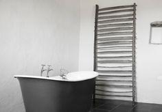 freestanding tub love. Gris bathroom