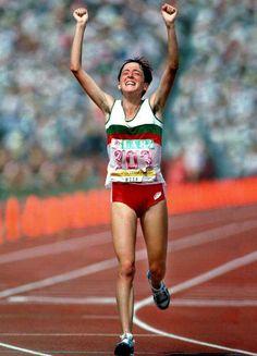 Rosa Mota - Marathon golden medal in Olimpic Games 1988 // medalha de ouro na maratona Seul 1988