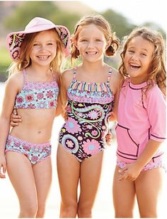 Swimsuit Little Girl Models Ages 10 - Bing images Little Girl Models, Little Girls, Cute Girl Outfits, Kids Outfits, Bikinis, Swimsuits, Baby Swimwear, Girls Bathing Suits, Portraits