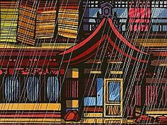 Clifton Karhu 1927-2007 became one of the most successful contemporary Western artists working in Japanese woodblock style.