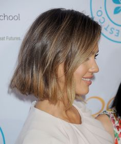 Jessica's Bob From the Side
