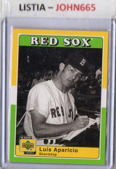 LUIS APARICIO - 2001 UPPER DECK 70'S DECADE #28 - MINT - RED SOX - FREE S/H