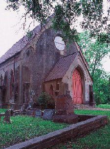 Christ Church, Episcopal, Church Hill, Jefferson County Mississippi