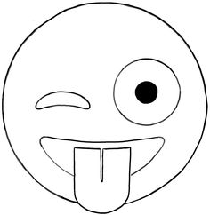 Learn how to draw another emoji face. Today I will show you how to draw the winking, sticking out his tongue emoji. Emoji Coloring Pages, Coloring Pages For Girls, Coloring Pages To Print, Free Coloring Pages, Printable Coloring Pages, Coloring Sheets, Party Emoji, Emoji Drawings, Easy Drawings