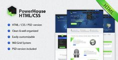 Shopping Powerhouse HTML/CSS TemplateYes I can say you are on right site we just collected best shopping store that have