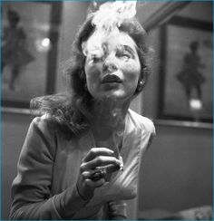 """historiful:"""" Blowing smoke - actress Janet Leigh date unknown. Janet Leigh, People Smoking, Smoking Ladies, Vintage Photography, White Photography, Friend Photography, Blowing Smoke, Photo Star, Coffee And Cigarettes"""