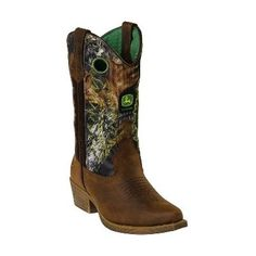 Take a look at this Mossy Oak Cowboy Boot by John Deere on #zulily today!  Ohmygooooooooooosh!  I HAVE to get these for Walker.