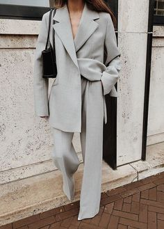 Suit Fashion, Look Fashion, Winter Fashion, Womens Fashion, Fashion Design, Gothic Fashion, Classy Outfits, Chic Outfits, Vintage Outfits