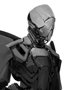 Mech by Anthony Jones.More robots here.