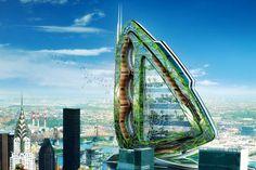 sky farming gokyuzu dikey tarım çiftlik çiftliği gökyüzü tarımı gökdelenler şehir kent yeşil mimari