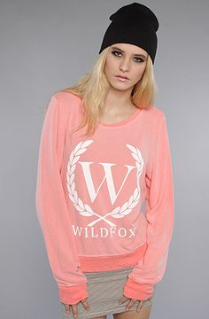 you can never have too many wildfox sweaters :)