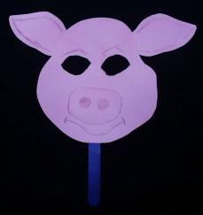 simple pig mask