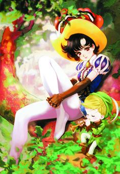 Ribbon no Kishi by Haruhiko Mikimoto Manhwa, Manga Anime, Anime Art, Female Characters, Disney Characters, Astro Boy, Female Character Design, Old Cartoons, Digimon
