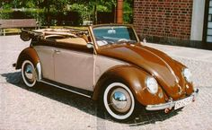 Allan Dybmarks - This beautiful '51 Cabriolet was found in the woods of Sweden and restored...