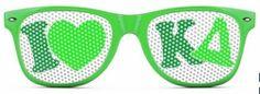 Kappa Delta Wayfarer Style Lens Sunglasses SALE $12.95. - Greek Clothing and Merchandise - Greek Gear®