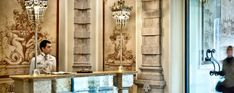 What to do in Milan:  Visit the world best Milan hotels interiors