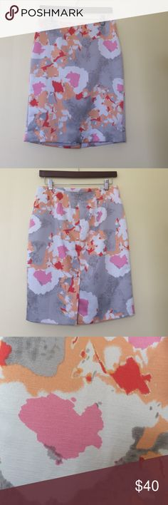 Ann Taylor skirt This skirt is a beautiful floral print. I have only worn it once. Is in perfect condition. Ann Taylor Skirts