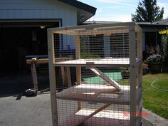 Plans for building rabbit cages, hutches & other housing
