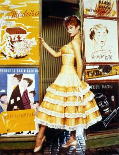 Brigitte Bardot photographed by Cornel Lucas, 1955.