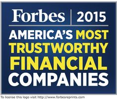 Forbes has named Primerica one of America's 50 Most Trustworthy Financial Companies! http://onforb.es/1MMZW0l