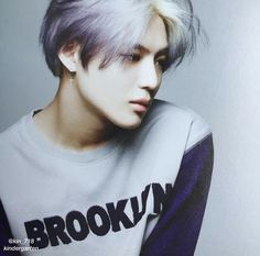 Taemin purple hair