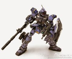 Painted Build: HGUC 1/144 Pale Rider [Ground Battle Type] - Gundam Kits Collection News and Reviews