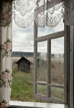 Window view: The taste of Petrol and Porcelain | Interior design, Vintage Sets and Unique Pieces www.petrolandporcelain.com