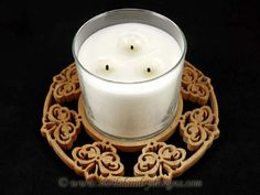 SLD511 - Emperor Damask Candle Tray