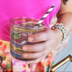 Mint & Elderflower Lemonade Cocktail