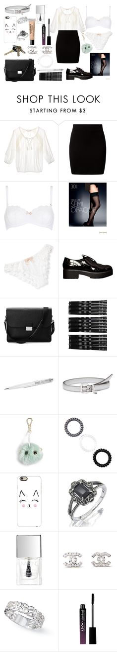 """#17"" by valsiruem on Polyvore featuring мода, Victoria's Secret, New Look, John Lewis, Eberjey, Aspinal of London, Monki, Miu Miu, Ted Baker и Casetify"