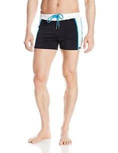 Sauvage Men's Sports Swim Trunk, Black/Turquoise, Medium Sauvage http://www.amazon.com/dp/B00PAZP636/ref=cm_sw_r_pi_dp_PGQpvb0XEFZYR