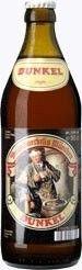 Cerveja Augustiner Dunkel, estilo Munich Dunkel, produzida por Augustiner, Alemanha. 5.6% ABV de álcool.