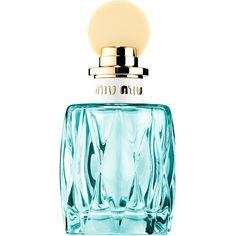 Miu Miu Miu Miu L'eau Bleue (7.235 RUB) ❤ liked on Polyvore featuring beauty products, fragrance and miu miu