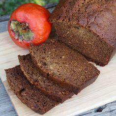 This simple persimmon bread is absolutely delicious. It's sure to be a hit!