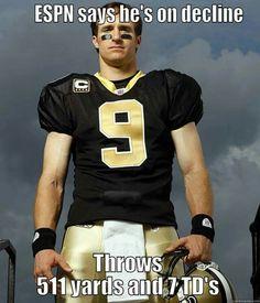 My quarterback!